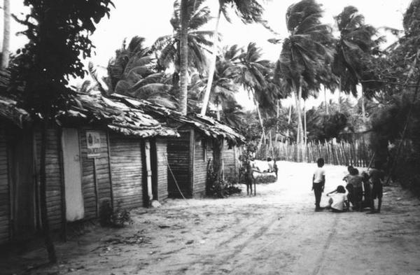 Pueblo pescadores ano 1980